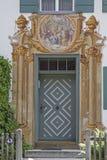 Hausdetail I Oberammergau Lizenzfreie Stockbilder