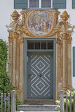 Hausdetail i Oberammergau Royalty Free Stock Images