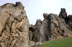 Hause στο βράχο Στοκ φωτογραφία με δικαίωμα ελεύθερης χρήσης