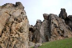 Hause auf dem Felsen Lizenzfreies Stockfoto