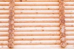 Hause de madeira. log seccionado. Imagem de Stock Royalty Free