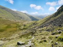 On Hause Moss, Lake District Stock Photography