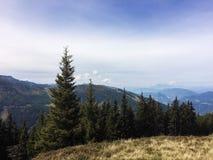 Hauser Kaibling, Steiermark/Österrike - September 16 2016: sikt fr Fotografering för Bildbyråer