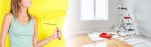 Hauserneuerung lizenzfreies stockbild