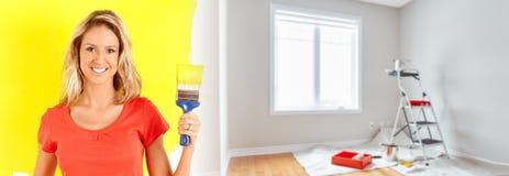 Hauserneuerung Stockbilder