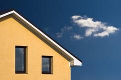 Hausfassade Stockbild