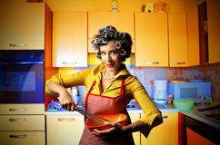 Hausfrau stockbild