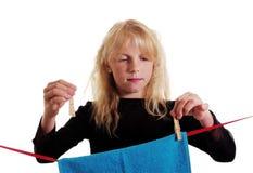 Hausfrau. Lizenzfreie Stockfotografie