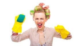 Hausfrau lizenzfreies stockfoto