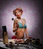 Hausfrau Stockfoto