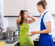 Hausfrau und Klempner Lizenzfreie Stockbilder