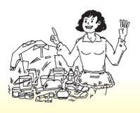 Hausfrauverantwortlichkeiten Stockbilder