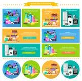 Haushalts-und Getränkelebensmittel-Kosmetik Lizenzfreies Stockbild
