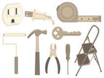 Haushalts-Werkzeuge Stockbilder