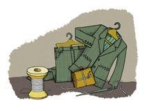Haushaltseinsparungen, Stimmung lizenzfreie abbildung
