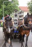 Hausham, Allemagne, 07 17 2016 : reconstitution historique 50 ans de fermeture de mine dans Hausham photos stock
