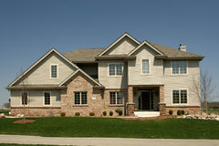 Haushauptwohnunterteilungfamilie Stockfotos