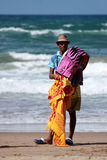 Hausierer am Strand Lizenzfreie Stockfotografie