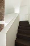 Hausinnenraum, Durchgangsansicht Lizenzfreies Stockbild