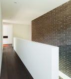 Hausinnenraum, Durchgangsansicht Stockfotografie