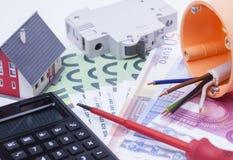 Hausinstallation Lizenzfreie Stockfotos