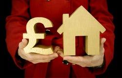 Hauskauf Stockfoto