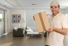 Hauslieferung Lizenzfreie Stockbilder