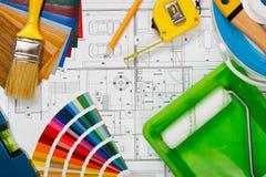 Hausmalerei Lizenzfreies Stockbild