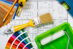 Hausmalerei Lizenzfreie Stockfotos