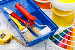 Hausmalerei Lizenzfreie Stockbilder