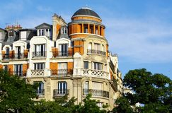 Hausmann architecture in paris Stock Image