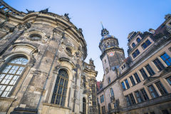 Hausmannsturm (Hausmann tower) of Residenzschloss (Royal Palace) Royalty Free Stock Image