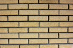 Hausmauerelement von einem Ziegelstein Stockfotografie
