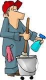 Hausmeister stock abbildung