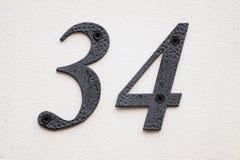 Hausnummer Lizenzfreie Stockbilder