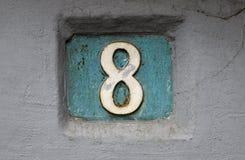 Hausnummer Stockbilder