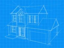 Hausplan Lizenzfreie Stockfotos