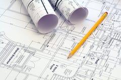Hausplan Lizenzfreies Stockbild