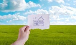 Hausprojekt Stockfotografie