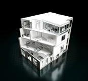 Hausprojekt Lizenzfreies Stockbild