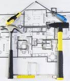 Hausprojekt Stockfoto