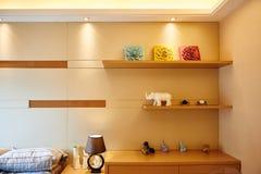 Hausraum-Wanddekoration stockfoto