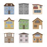 Haussatz Stockbild