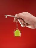 Hausschlüssel Lizenzfreie Stockbilder
