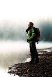 Hausse au lac photos libres de droits