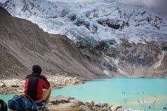 Hausse au Pérou Image libre de droits