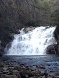 Hausse aux cascades Photo libre de droits