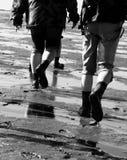 Hausse d'appartement de boue photos libres de droits