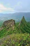 Hausse d'Hawaï Ridge Photographie stock libre de droits