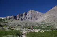 Hausse dans le Colorado Image stock